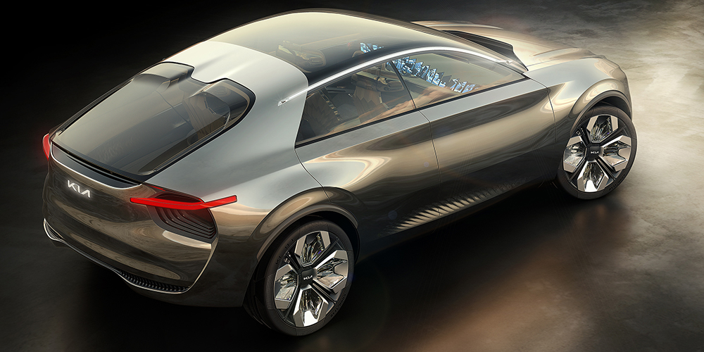 Stunning Kia Imagine Concept Re-invents Electric Car