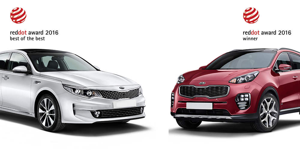 Kia Optima Sportage Win Design Awards New Suvs Cars
