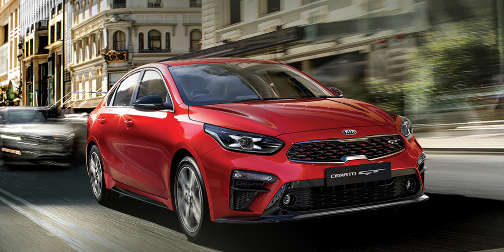 A clean sweep for the all-new Kia Cerato!
