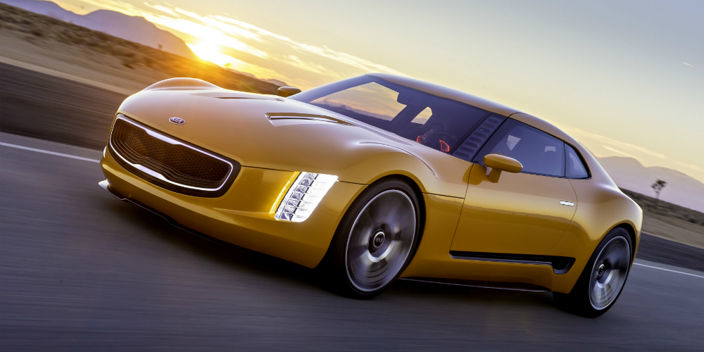 Kia surprises with a powerful GT4 sports car
