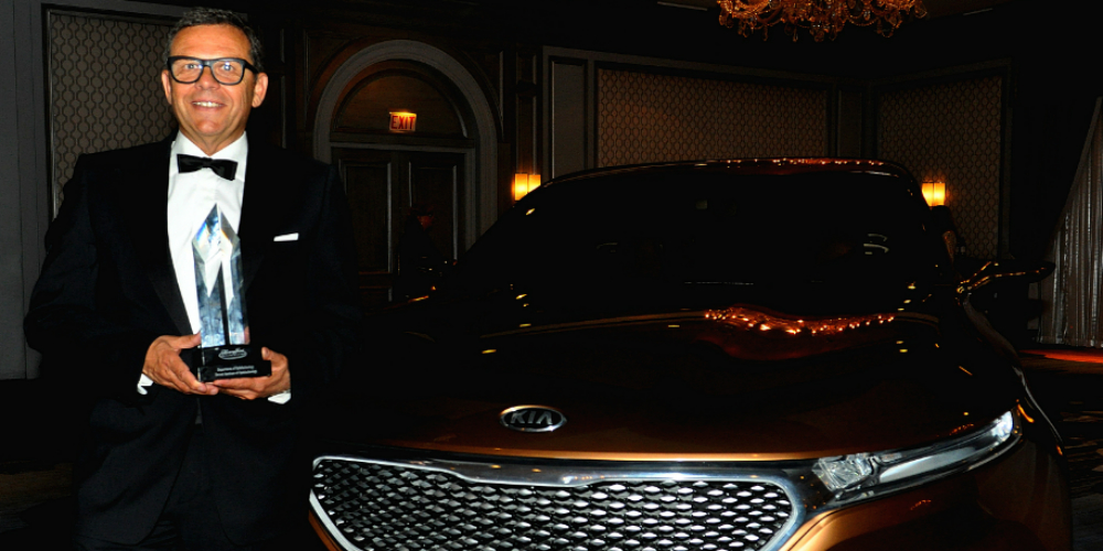 Kia's Peter Schreyer receives lifetime design award
