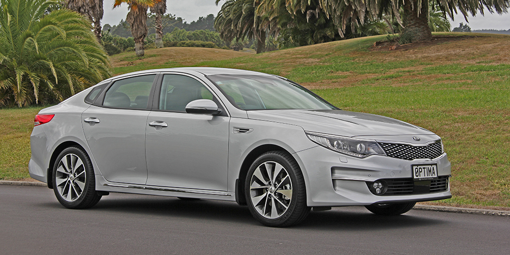 New Kia Optima: More space, luxury & safety