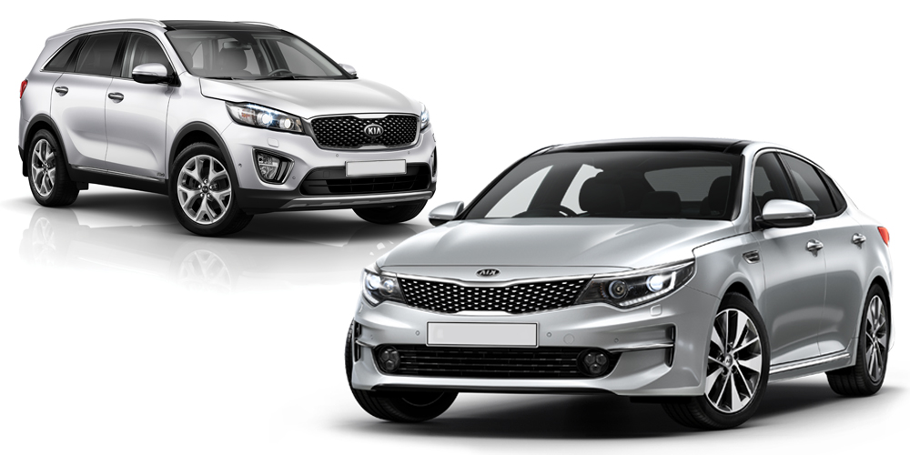 Kia's Optima & Sorento win international awards
