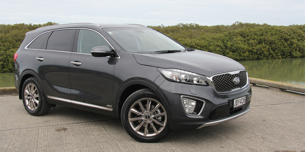 All new 2015 Kia Sorento arrives in NZ